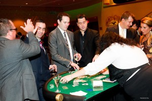 Charity events in DC, Craps, Poker, Roulette, Black Jack tables, dealers by DC Party Rentals